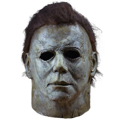 Authentic Halloween Masks (Authentic  HALLOWEEN 2018 Trick or Treat Studios Michael Myers Mask)
