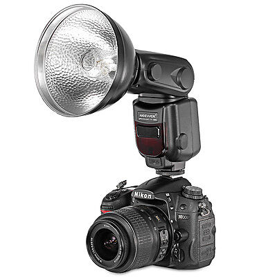 Neewer LCD Display Speedlite Slave Flash with Diffuser Lamp Reflector for Nikon