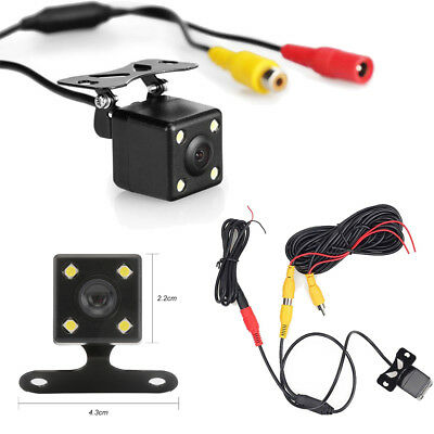 HD Car Front Rear View Reverse Backup Camera Parking Night Vision Waterproof