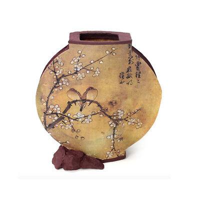 Korean Traditional Handicraft Moon Jar Hanji Lamp Special Gift Ume Flower