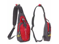 Ultra-light Chest Bag Waterproof Polyester Shoulder Bag x 3