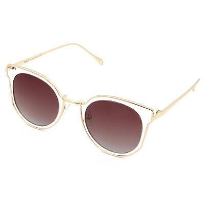 Cyxus Women/Girls Polarized Sunglasses for Anti Glare, Crystal Cat Eye (Cat Eye Crystal)