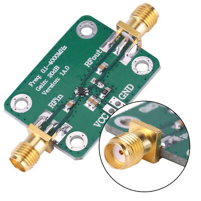 0.1-4000mhz Gain 20db Low Noise Wideband Microwave Rf Amplifier Module Oe
