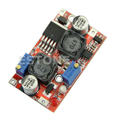 Lm2577 Automatic Boost Buck Converter 4-35v To 1.25-25vcc Cv Voltage Regulator