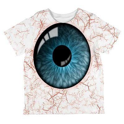 Halloween Blue Creepy Eyeball Costume All Over Toddler T - Creepy Toddler Costumes