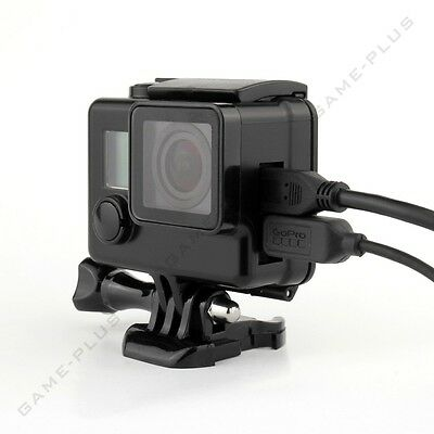 Blackout Protective Case Skeleton Housing Side Open Shell for GoPro Hero 4 3+ 3