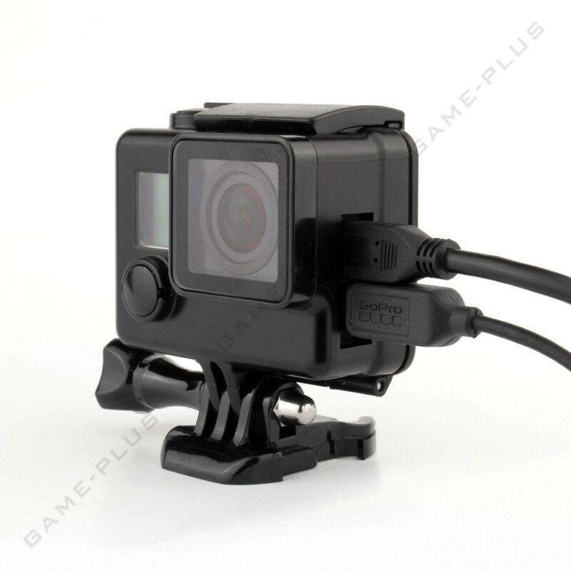 Blackout Protective Case Skeleton Housing Side Open Shell for GoPro Hero 4 3+ 3