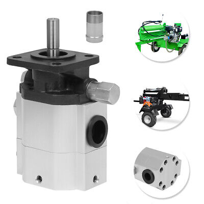 Hydraulic Log Splitter Pump Hydraulic Motor 11 Gpm 2 Stage Hi Lo Gear Pump