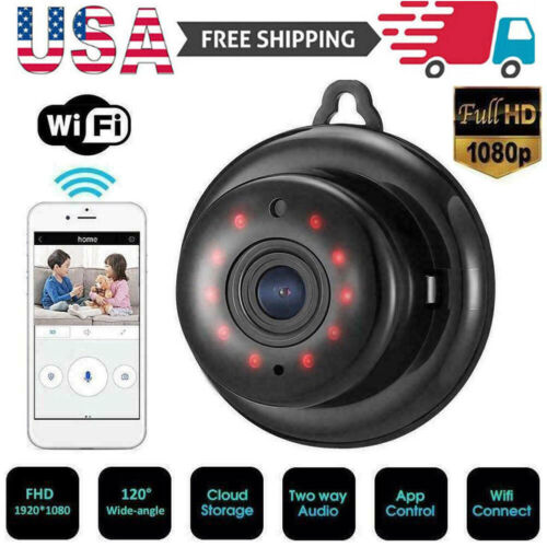 USA Mini WiFi IP Camera HD 1080P Wireless Hidden Home Security Cam Night Vision Consumer Electronics