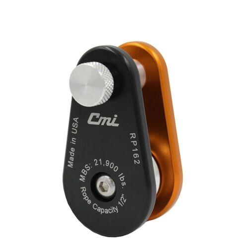 """CMI RP162 MINI ARBORIST RIGGING BLOCK 1/2"""" ROPE CAPACITY  21,900LB"""