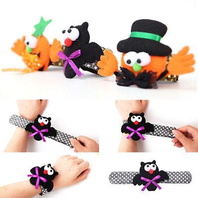 Halloween Pumpkin Bat Wristband Costume Party Bracelets For Children - Halloween Pumpkins For Children