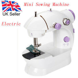 Mini Sewing Machine Small Lightweight Portable Built in Bobbin Winding Facility