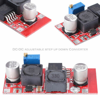 5 Pcs Dc Boost Buck Adjustable Step-updown Red Xl6009 Voltage Boost Modules