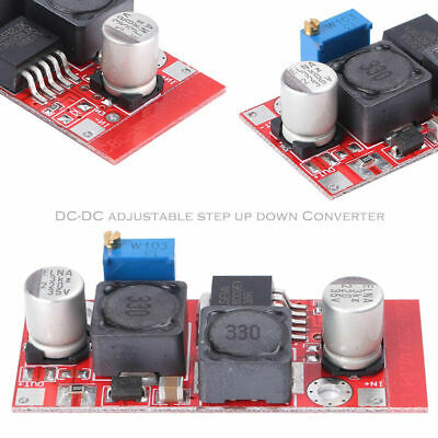 4 Pcs Dc Boost Buck Adjustable Step-updown Red Xl6009 Voltage Boost Modules