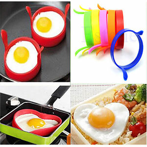 Silicone-Kitchen-Egg-Fry-Frier-Fried-Oven-Poacher-Pancake-Mould-Tool-Poach-Ring