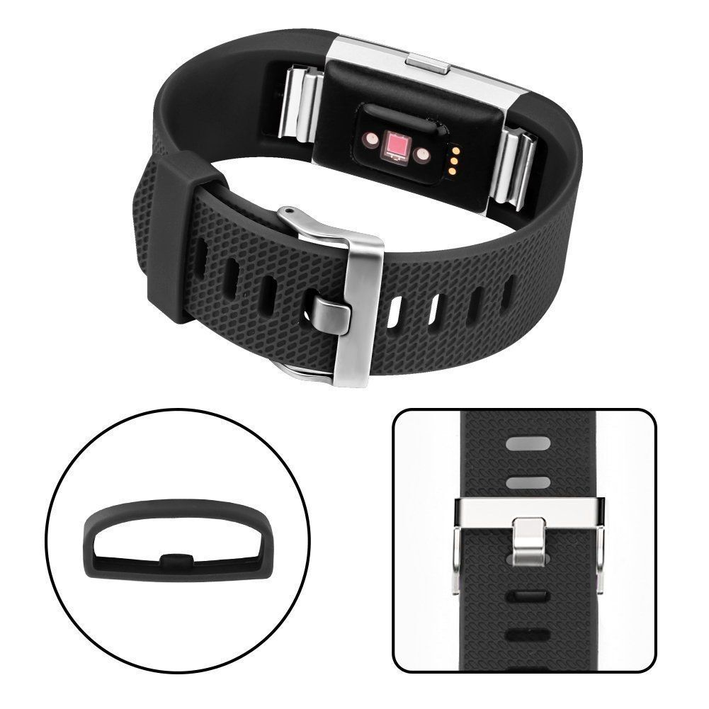 Купить Fitbit Hot Charge 2 Band Silicone Fitness Wristband Heart Rate Watch Band - 3 Pack Replacement  Band for Fitbit Charge 2 Small Bracelet Watch Rate Fitness