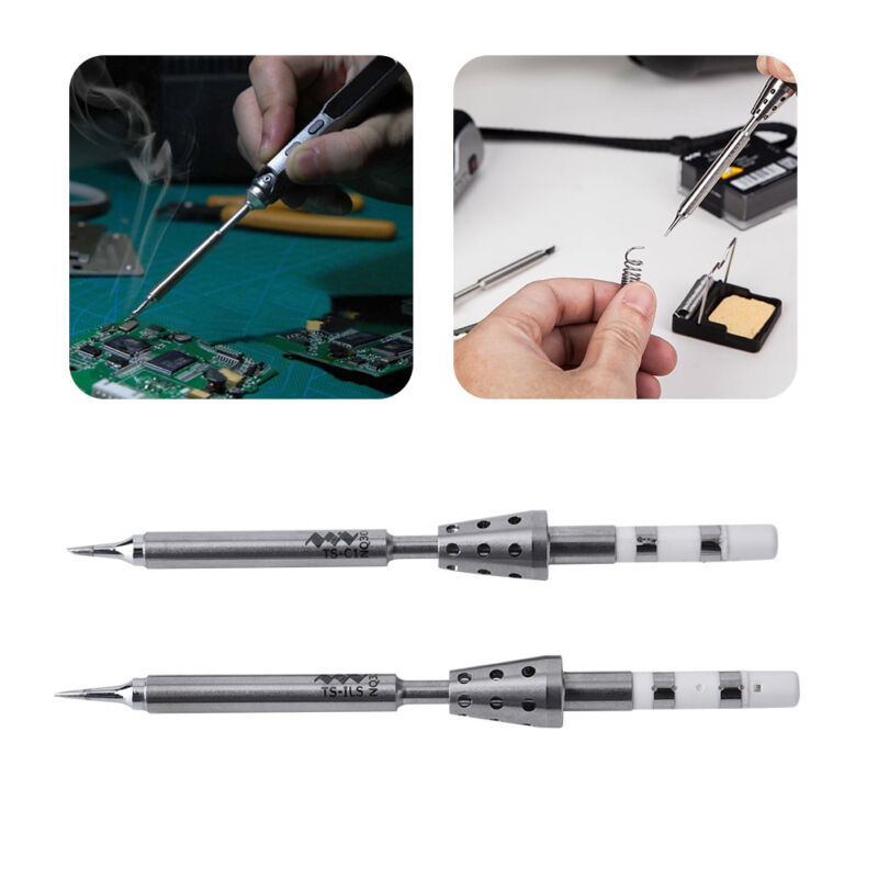 Replacement solder tip for TS100 smart digital lcd electric soldering iron QP ^P