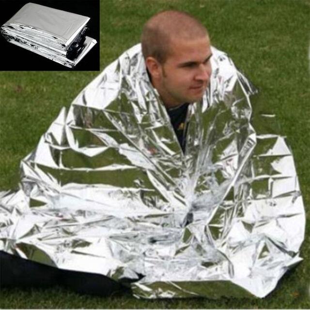 Outdoor Waterproof Emergency Survival Foil Thermal First Aid Rescue Blanket