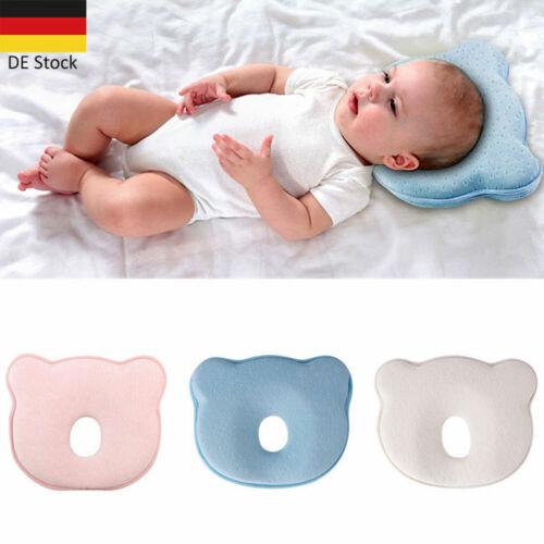 DE Design Orthopädisches Babykissen gegen Verformung Plattkopf Baby Soft Pillow