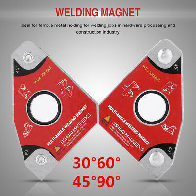 2 Pc Magnetic Mig Welding Soldering Ground Holder Clamps 30604590 Adjustable