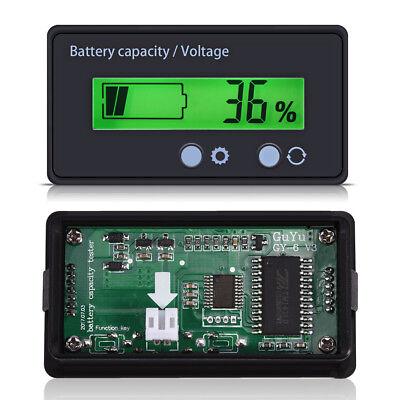 Universal Digital Lcd Display Voltmeter Monitor Battery Capacity Voltage Meter