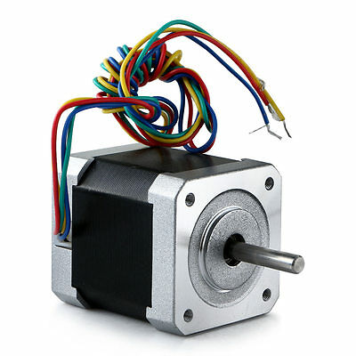 Nema 17 Hybrid Stepper Motor 48mm 2-phase 12v 2.5a For 3d Printer Cnc Utility