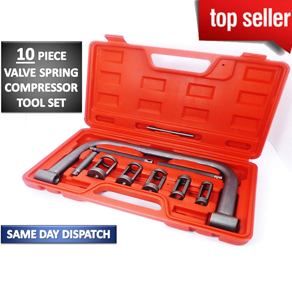 Heavy Duty 5 Sizes Valve Spring Compressor Pusher Tool Car