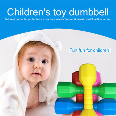 2pcsset Children Dumbbells Hand Weights Kindergarten Fun Gift Fitness Equipment