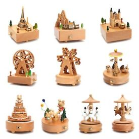 Wooden Music Boxes For Sale