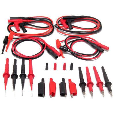 2pcs Aidetek Needle Tipped Tip Test Tl809 Leads Set For Fluke Meter Tlp20157 Usa