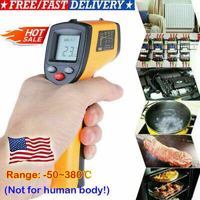 Portable Digital Thermometer Infrared Temperature Gun Non-contact Ir Laser Fast
