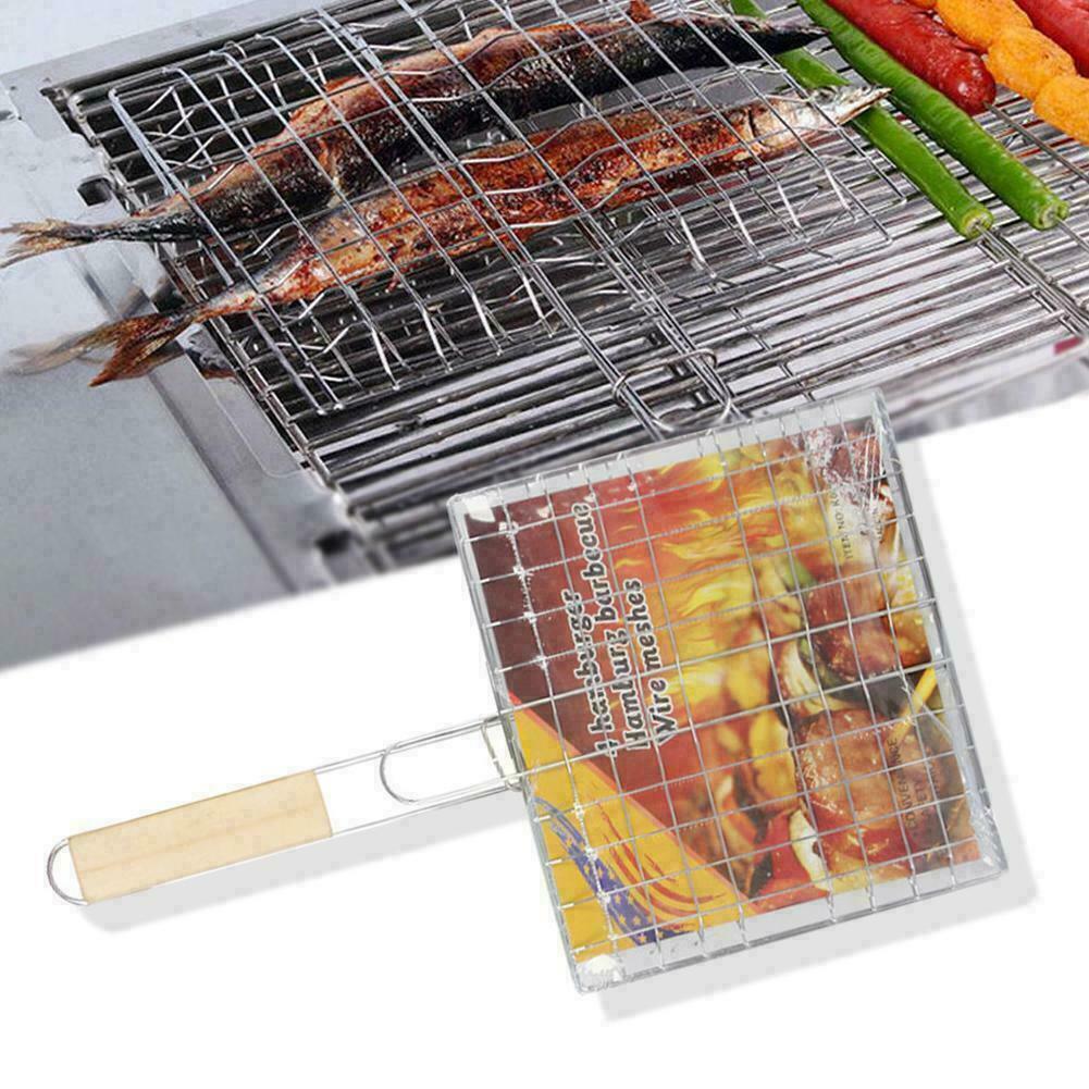 4er Set Grillspieße Schaschlikspieße,Fleischspieße,Barbecue Holzgriff