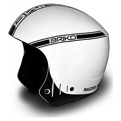 0a4e097688 Briko Rocker Super White Black Ski Helmet Size  58CM