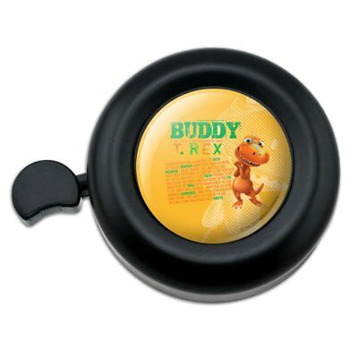 Dinosaur Train Buddy T-Rex Stats Bicycle Handlebar Bike Bell, used for sale  Shipping to Canada