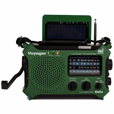4-Way Powered Emergency Weather Alert Radio With Cell Phone