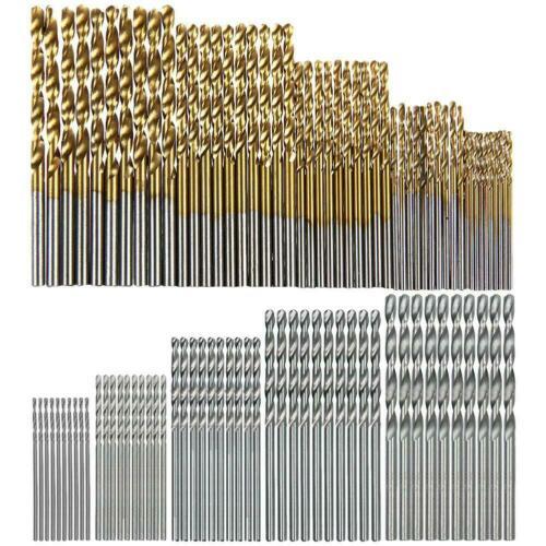 100pcs drill bit set 1 3mm hss