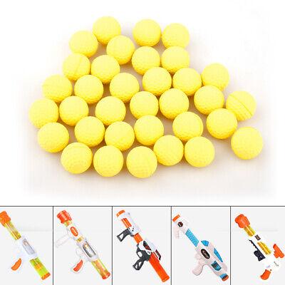 100Pcs//Pack Toy Gun Bullet Balls for Rival Apollo Zeus Refill Toys Ball 2.1cm