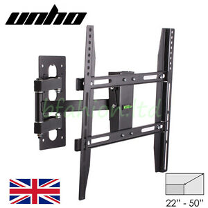 TV Wall Bracket Tilt Swivel 32 37 40 42 46 47 48 49 50 Plasma LCD LED Cantilever