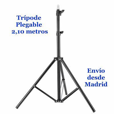 Trípode Portátil 2.1 metros plegable vídeos Cámara Tik Tok prismáticos selfie