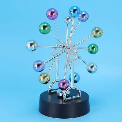Orbital Revolving Ball Perpetual Motion Desk Art Toy Office Decor Gift.