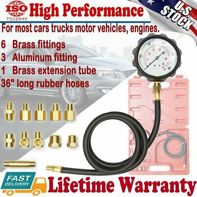 AT Automatic Transmission Engine Oil Pressure Tester Gauge Diagnostic Test Kit