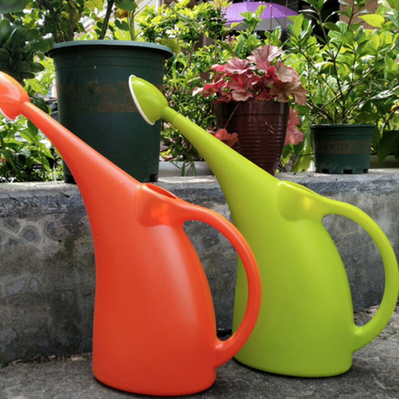Practical Large Capacity Long Spout Garden Flower Plants Watering Can Container