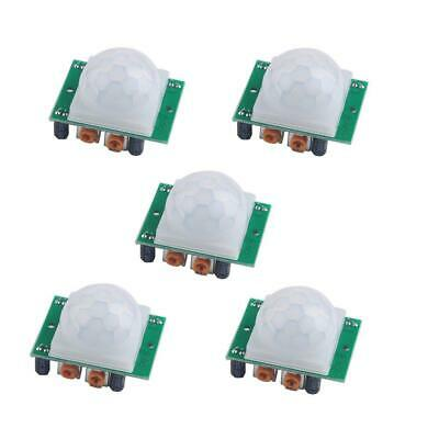 Hc-sr501 Pir Sensor Infrared Ir Body Motion Module For Arduino Raspberry Pipack