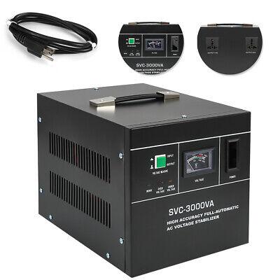 New Voltage Stabilizer Automatic Svc-3000va 150-250vac Input Voltage Regulator