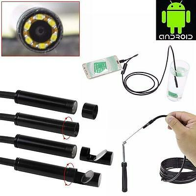 2m 3.5m 6led Android Endoscope Waterproof Inspection Camera Usb Pu
