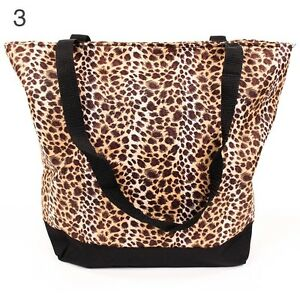Beach Bag: Large Leopard Beach Bag