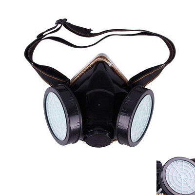 Cartridge Industrial Respirator Gas Safety Anti-Dust Chemical Paint Spray Mask