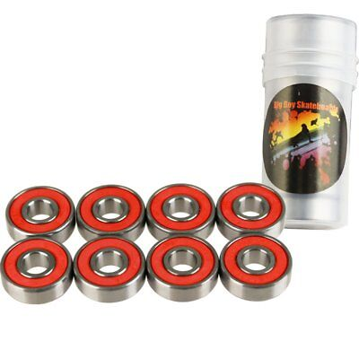 ABEC 7 Bearings for Skateboard - Deck Longboard 1 Set of 8 Pack