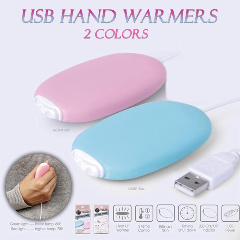 USB Charging Electric Pocket Portable Heating Heated Winter Hand Warmer Heater