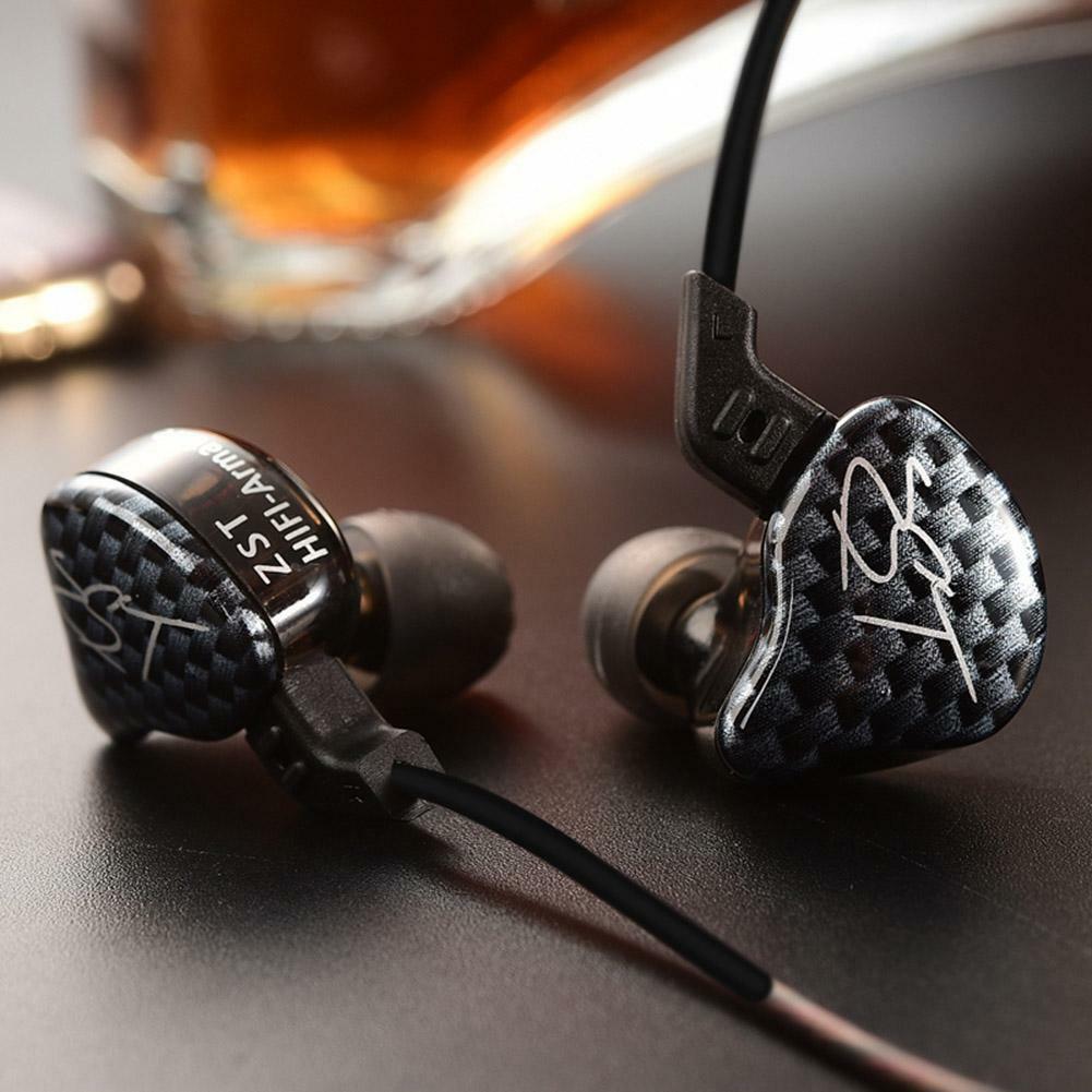 KZ-ZST Wired In-ear Dynamic Hybrid Dual Driver Earphone Earb